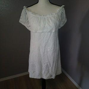 Speechless off shoulder dress